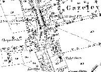 Gazeley Map 1884