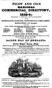 Pigot and Co.s Directory 1828-9 - Frontispiece