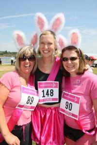 Poole Race For Life 2010 - Hayley Rippington, Wendy Houlton and Zoe Kirby
