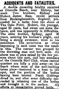 Poverty Bay Herald 27 Nov 1909