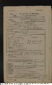 Rippington (Herbert Edwin 1881) Military Record_1