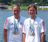 Sam Rippington and Lisa Suttle - August 20th, 2009 - Canoeing Medals