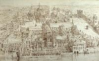 The old Palace of Westminster in the reign of Henry VIII
