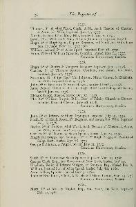 The registers of Chester cathedral, 1687-1812 p.30