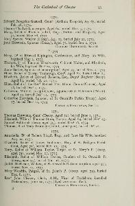 The registers of Chester cathedral, 1687-1812 p.33