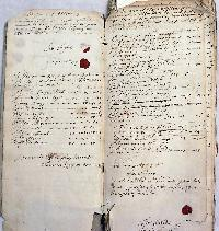 Thomas 1678 - 1710 page from overseers accounts