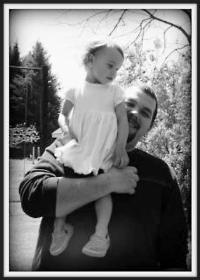 Tony Reppington (with his niece Serenity