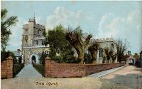 Tring Church - Rush & Warwick, Art Publishers, Bedford - 1908